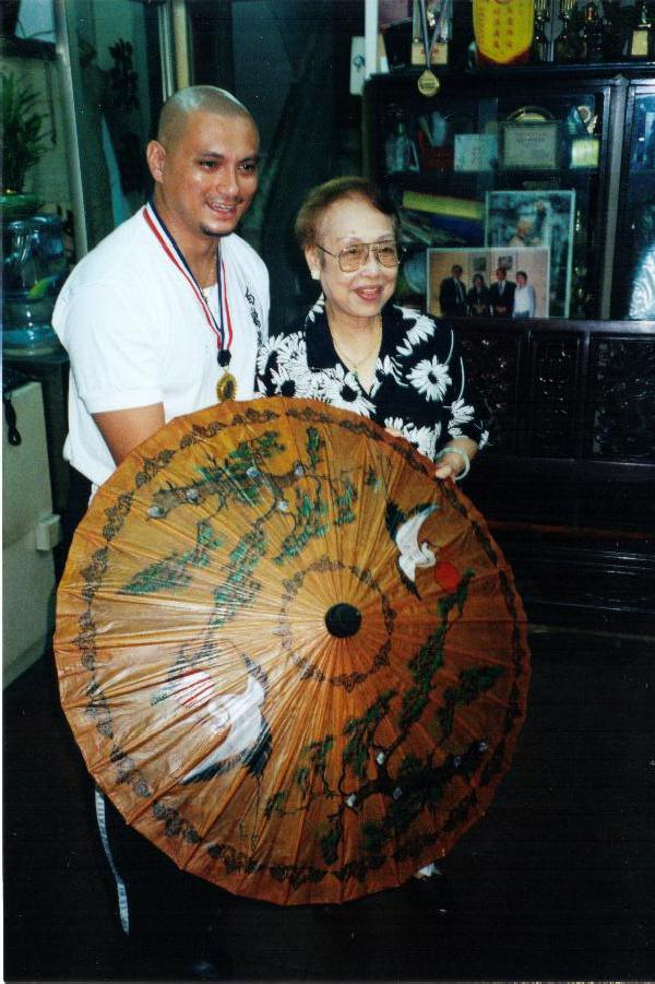 Sifu Santamaria and SiTi Po